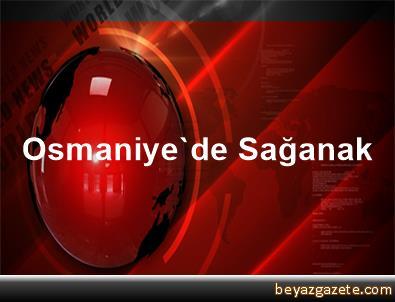 Osmaniye'de Sağanak