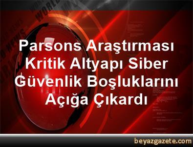 Parsons Araştırması, Kritik Altyapı Siber Güvenlik Boşluklarını Açığa Çıkardı