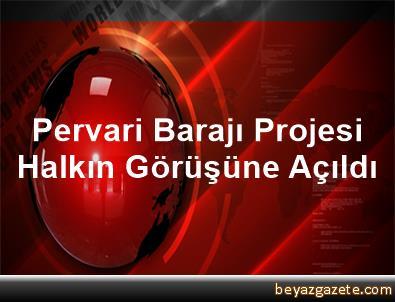 Pervari Barajı Projesi Halkın Görüşüne Açıldı