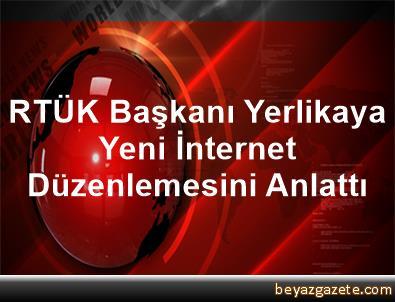 RTÜK Başkanı Yerlikaya, Yeni İnternet Düzenlemesini Anlattı