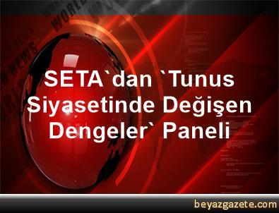 SETA'dan 'Tunus Siyasetinde Değişen Dengeler' Paneli
