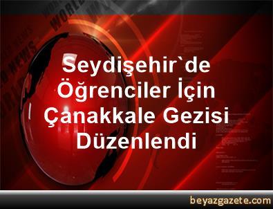 Seydişehir'de Öğrenciler İçin Çanakkale Gezisi Düzenlendi