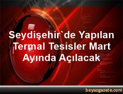 Seydişehir'de Yapılan Termal Tesisler Mart Ayında Açılacak