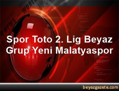 Spor Toto 2. Lig Beyaz Grup Yeni Malatyaspor