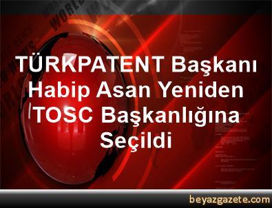 TÜRKPATENT Başkanı Habip Asan, Yeniden TOSC Başkanlığına Seçildi