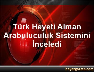 Türk Heyeti, Alman Arabuluculuk Sistemini İnceledi