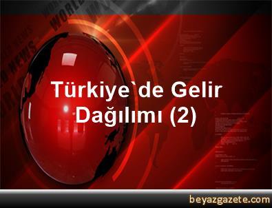 Türkiye'de Gelir Dağılımı (2)