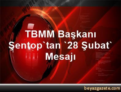 TBMM Başkanı Şentop'tan '28 Şubat' Mesajı