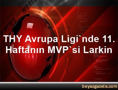 THY Avrupa Ligi'nde 11. Haftanın MVP'si Larkin