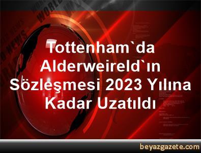 Tottenham'da Alderweireld'ın Sözleşmesi 2023 Yılına Kadar Uzatıldı