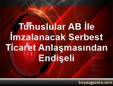 Tunuslular AB İle İmzalanacak Serbest Ticaret Anlaşmasından Endişeli