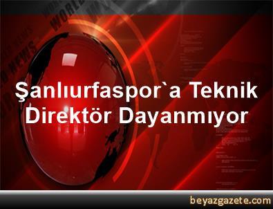 Şanlıurfaspor'a Teknik Direktör Dayanmıyor