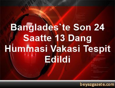 Banglades'te Son 24 Saatte 13 Dang Hummasi Vakasi Tespit Edildi