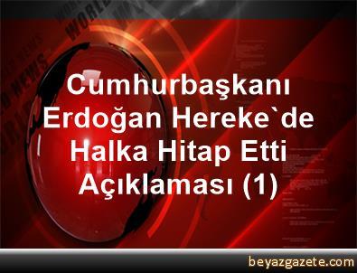 Cumhurbaşkanı Erdoğan, Hereke'de Halka Hitap Etti Açıklaması (1)