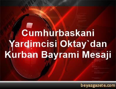 Cumhurbaskani Yardimcisi Oktay'dan Kurban Bayrami Mesaji