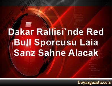 Dakar Rallisi'nde Red Bull Sporcusu Laia Sanz Sahne Alacak