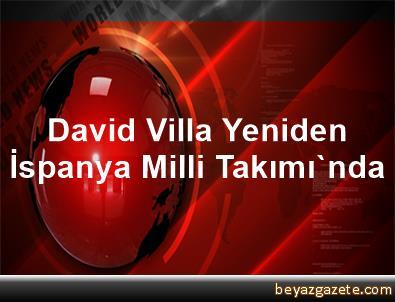 David Villa, Yeniden İspanya Milli Takımı'nda