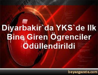 Diyarbakir'da YKS'de Ilk Bine Giren Ögrenciler Ödüllendirildi