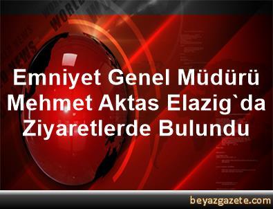 Emniyet Genel Müdürü Mehmet Aktas, Elazig'da Ziyaretlerde Bulundu