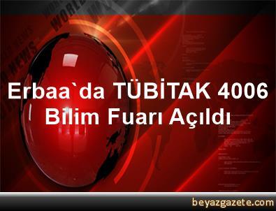 Erbaa'da TÜBİTAK 4006 Bilim Fuarı Açıldı