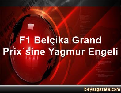 F1 Belçika Grand Prix'sine Yagmur Engeli