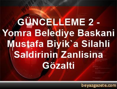 GÜNCELLEME 2 - Yomra Belediye Baskani Mustafa Biyik'a Silahli Saldirinin Zanlisina Gözalti