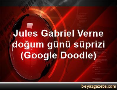 Jules Gabriel Verne doğum günü süprizi (Google Doodle)