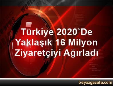 Türkiye 2020'De Yaklaşık 16 Milyon Ziyaretçiyi Ağırladı