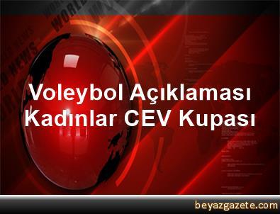 Voleybol Açıklaması Kadınlar CEV Kupası